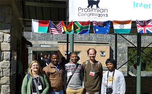 APIES participants, Prosimians Congress, Ranamafano